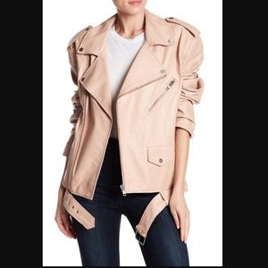 w118 by walter baker | hope leather jacket rose